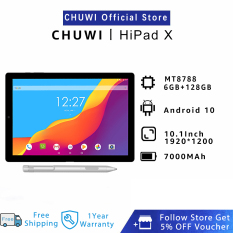 CHUWI Official Hipad X Android Tablet   10.1 Inch MT8778V Octa Core 6GB 128GB Android 10.0 OS 4G LTE Dual Band WiFi Bluetooth 5.0 Portable Tablets