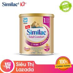 [Siêu thị Lazada]Sữa bột Similac Total Comfort 1 (HMO) 360g cung cấp nguồn dinh dưỡng đầy đủ cho bé phát triển toàn diện