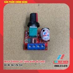 Mạch điều khiển độ sáng Led 5A (Mạch led dimmer 5A điện áp 5V, 12V, 24V)