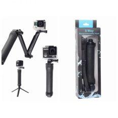Gậy chụp ảnh đa chức năng cho máy ảnh hành trình GoPro ( gậy 3 khúc ) 3 ways