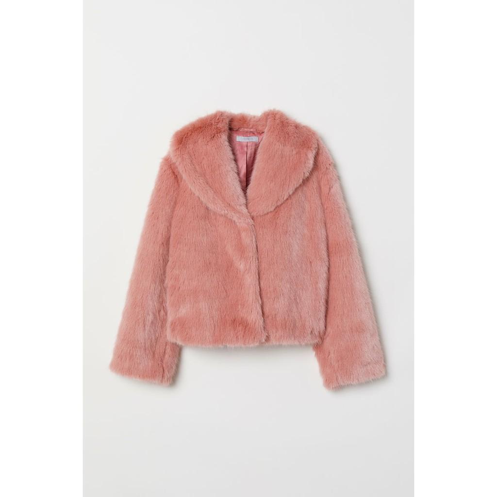 Áo lông H&M Lisa Blackpink auth new tag màu hồng siêu chảnh siêu sang
