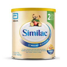 Sữa bột Similac HMO 2 Lon 400g (bé 6-12 tháng) – HSD luôn mới