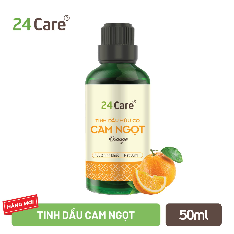 Tinh dầu 24Care chiết xuất nguyên chất 50ML – Giảm căng thẳng, kháng khuẩn, thơm phòng, ngủ ngon