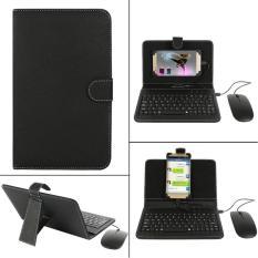 Bao da bàn phím điện thoại KÈM CHUỘT cho hệ điều hành Android cao cấp, bàn phím điện thoại, bàn phím rời