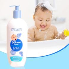 Sữa tắm gội trẻ em Evoluderm 500ml cua Pháp HSD 03.2022