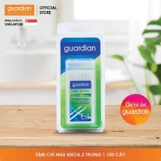 Bàn chải và tăm 2 in 1 Guardian – 150 Cây