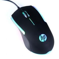 Chuột vi tính HP M160 led RGB cực đẹp – thích hợp dùng văn phòng/ học tập (Đen)