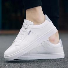 Giày thể thao nam trắng ghi chuẩn hàn quốc – Giày sneaker xu thế thời trang mới – 0018