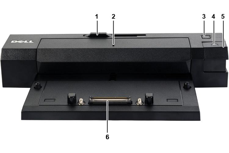 Dock Dell cho Precision P7520, P7720, P7510, P7520, M4800, M6800, các dòng Dell Latitude - Dell E-Port Plus K09A USB...