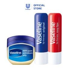 Bộ dưỡng môi đẹp xinh Vaseline