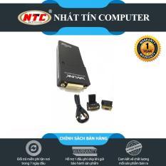 Bộ chuyển đổi MINI USB 2.0 sang VGA + HDMI + DVI Wavlink WS-UG 17D1 (Đen)