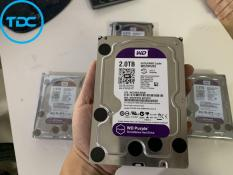 Ổ cứng HDD 2TB WD PURPLE chuyên dùng cho đầu thu camera. Bảo hành 2 năm, chuẩn kết nối Sata 3, bảo hành 1 đổi 1