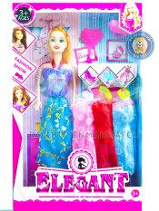 Búp bê đồ chơi cho bé gái kèm váy áo, phụ kiện đáng yêu kích thước 30cm 051a – Đồ khuyến mãi giá tốt