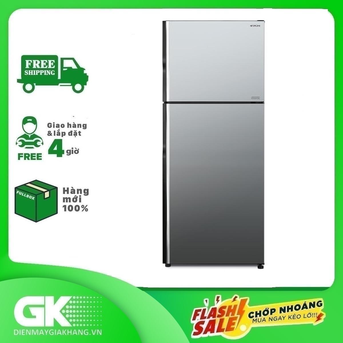Tủ lạnh Hitachi Inverter 366L R-FVX480PGV9 MIR
