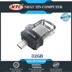 USB OTG SanDisk Ultra 32GB Dual Drive m3.0 (Bạc)