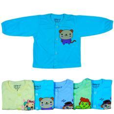 Combo 10 Áo dài Tay Màu cho bé trai bé gái từ 2-10kg ACM (100% Cotton, ảnh và video thật) Booba.shop