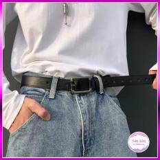 Thắt lưng NAM Vuông chữ nhật cá tính – Dây nịt da cho Nam giới trẻ trung