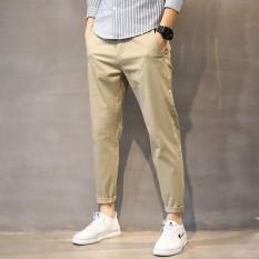 Quần kaki nam cao cấp ống bó phong cách thể thao trẻ trung năng động(QKK)