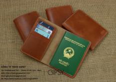 Bao da Passport/Hộ Chiếu da bò- WP039