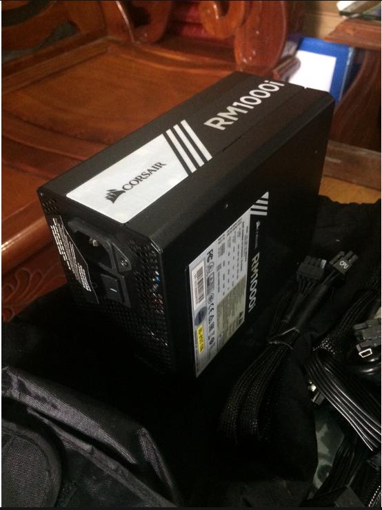 Nguồn Corsair RM1000i 80 full modull