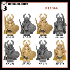 Đồ chơi lắp ráp minifigure và non lego – Mô hình MCU Thor's Asgardian Warriors and Berserkers – Hela's Undead Soldiers – KT1044