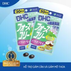 Viên uống Giảm cân bổ sung Dầu dừa DHC FORSKOHLII Gói 20 Ngày