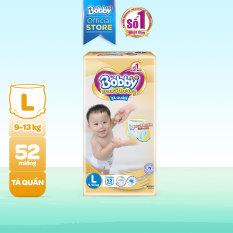 [Freeship 20K, đơn 300K] Tã/Bỉm quần cao cấp Bobby Extra Soft Dry thun chân ngăn hằn Super Jumbo L52