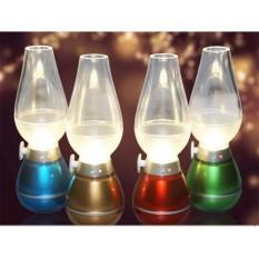 Đèn Dầu Led DOCHOIPC Cảm Ứng Thổi Bật Tắt Sạc Điện Cao Cấp, sản phẩm độc lạ thân thiện trong ngôi nhà bạn, độ bền lâu