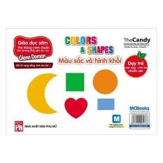 Flashcard Dạy Trẻ Theo Phương Pháp Glenn Doman – Màu Sắc Và Hình Khối (Kèm Sử Dụng App)