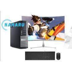 Bộ máy tính Văn phòng Dell Optiplex (Core i7 3770 – Core i5 – Ram 8Gb – SSD 120Gb ) Màn hình Cong 24 inch – Tặng Bàn phím chuột + bàn di chuột và USB wifi – Chuyên dùng cho Công ty Doanh Nghiệp