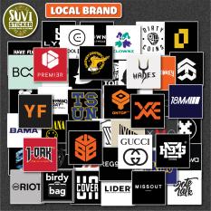 Sticker Local Brand chống nước dán laptop, điện thoại, đàn guitar, mũ bảo hiểm
