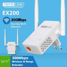 Bộ Kích Sóng Wifi TotoLink EX200 Repeater 300Mbps – 2 anten