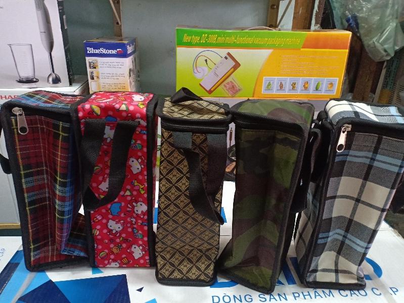 [HCM]Túi đựng bình giữ nhiệt 1L1 và1L2 và túi 1000ml Kim Cương