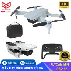 Kèm túi đựng – Máy bay Flycam Teng mini KF609, Camera 4K, nhận diện cử chỉ, gấp gọn kết nối trực tiếp điện thoại – Hãng phân phối chính thức