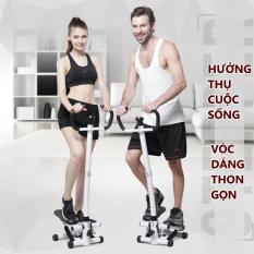 Máy chạy bộ Máy bước bộ tại nhà máy tập bước chân có tay cầm thon gọn săn chắc rèn luyện sức khỏe đa chức năng Tops Market
