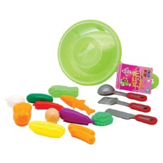 Bộ đồ chơi chảo nấu ăn màu xanh lá Kitchen Set