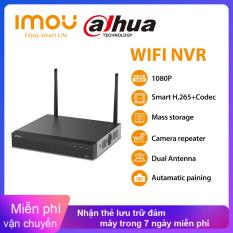 Hệ Thống An Ninh Mạng Wi-Fi Dahua Imou, Vỏ Kim Loại Chắc Chắn Độ Phân Giải 4K NVR Không Dây 4CH Phù Hợp Với ONVIF Standard4