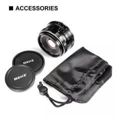Ống kính Meike 35mm F1.4 lấy nét thủ công cho máy ảnh mirroless Fuji, Sony, Canon