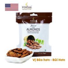 Hạt Hạnh nhân Mỹ tách vỏ 35gr – sấy khô tự nhiên – hạt dinh dưỡng Rostaa (Sản phẩm của Mỹ)