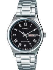Đồng hồ nam dây thép không gỉ Casio MTP-V006D-1BUDf