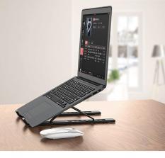 Giá đỡ máy tính xách tay, laptop,sách đa năng hàng cao cấp , nhựa cao cấp có thể điều chỉnh 6 cấp độ cao thấp, gập lại dễ dàng, chống rung tốt