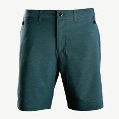 Quần short thể thao nam quần đùi thun nam polyester cao cấp Breli – BQS9005-1M-RTE1 (Xanh cổ vịt)