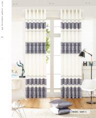 Bộ Màn Rèm Cửa 2 tấm – Ngang 3m cao 2m7 (mỗi tấm 1m5 x 2m7) & 2 dây cột rèm – Vải gấm thổ cẩm truyền thống – Khoen ore [Có may theo kích thước yêu cầu]