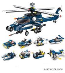 Xếp hình lego máy bay 1801