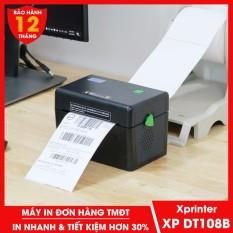 Máy in đơn hàng TMĐT Xprinter XP DT108B in phiếu giao hàng tem vận chuyển bằng công nghệ in nhiệt không cần dùng mực
