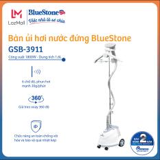 [Còn 969k-27-29.3] Bàn ủi hơi nước đứng BlueStone GSB-3911 1800W 1.6L phun hơi 30g/phút, 6 chế độ, giá treo xoay 360 độ và móc treo gập được – Bảo hành 2 năm – Hàng chính hãng