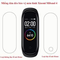 Miếng dán màn hình Xiaomi Miband 4, miband4, Mi Band4 – bảo vệ màn hình chống trầy xước chất lượng cao