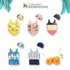Đồ Bơi An ToàN Cho Bé – ÁO Bơi Trợ NổI Momasong ( TặNg KèM Phao Tay HìNh Thú )
