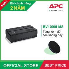 Bộ lưu điện APC: EASY UPS BV 1000VA, AVR, Universal Outlet, 230V – BV1000I-MS