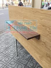 kệ gỗ treo tường ngang 60 cm x 2 thanh